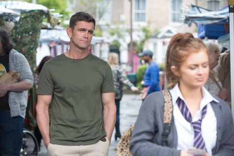 Jack Branning and Tiffany Butcher in EastEnders