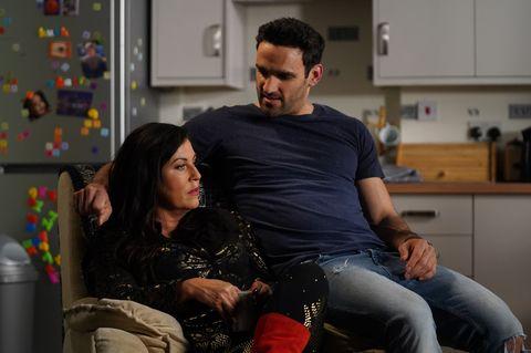 Kat Moon worries about Kush Kazemi in EastEnders