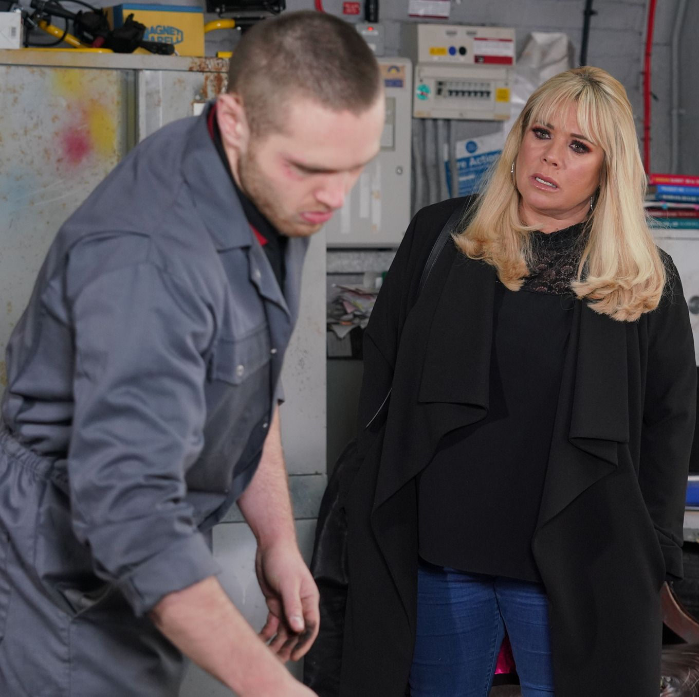 EastEnders star Danny Walters teases Keanu Taylor's future with Sharon Mitchell