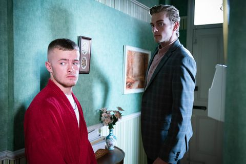liam butcher and peter beale in eastenders