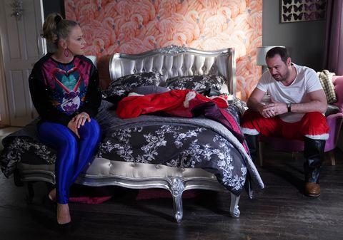Linda and Mick Carter in EastEnders