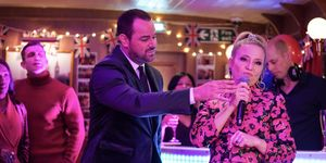Linda Carter humiliates Mick in EastEnders