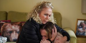 Lisa Fowler and Louise Mitchell in EastEnders