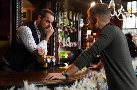 Mick and Lee Carter in EastEnders