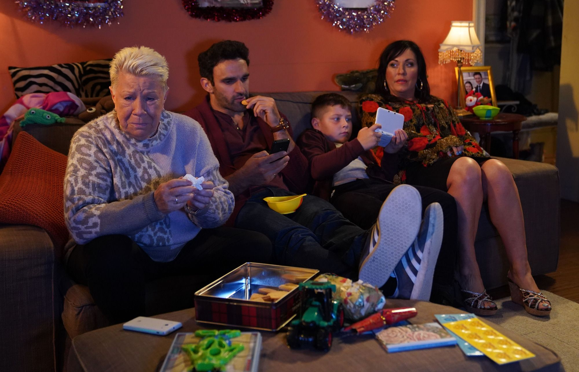 EastEnders is lining up a surprise for the Slaters as they get huge news on Christmas Day