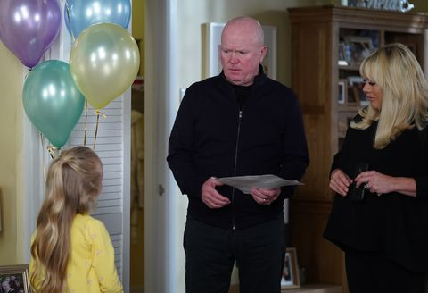 Phil Mitchell is welcomed home in EastEnders