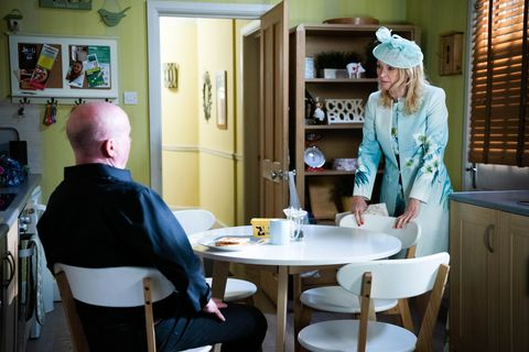 phil mitchell and kathy beale in eastenders
