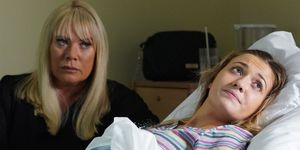 Sharon and Louise Mitchell in EastEnders
