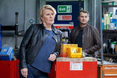shirley carter and ben mitchell in eastenders