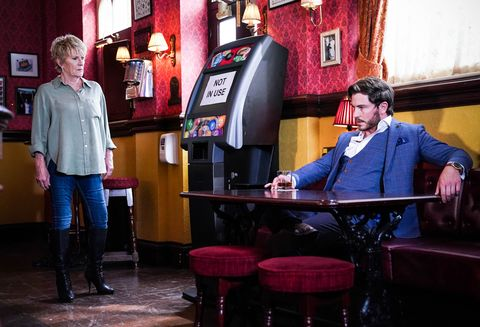 shirley carter and gray atkins in eastenders