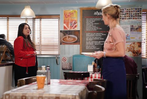 Stacey Fowler and Kathy Beale worry about Max in EastEnders