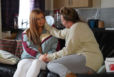 tiffany butcher and karen taylor in eastenders