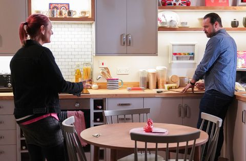 tina and mick carter in eastenders