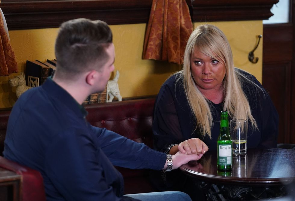 EastEnders: Kat and Roxy fight at The Vic - first look