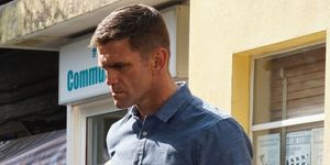 Jack Branning confronts Fraser in EastEnders