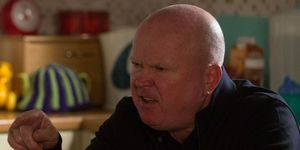 Phil Mitchell confronts Kat Moon in EastEnders