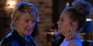 Shirley and Linda Carter in EastEnders