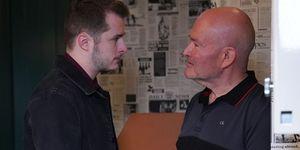 Ben Mitchell and Jonno Highway clash in EastEnders