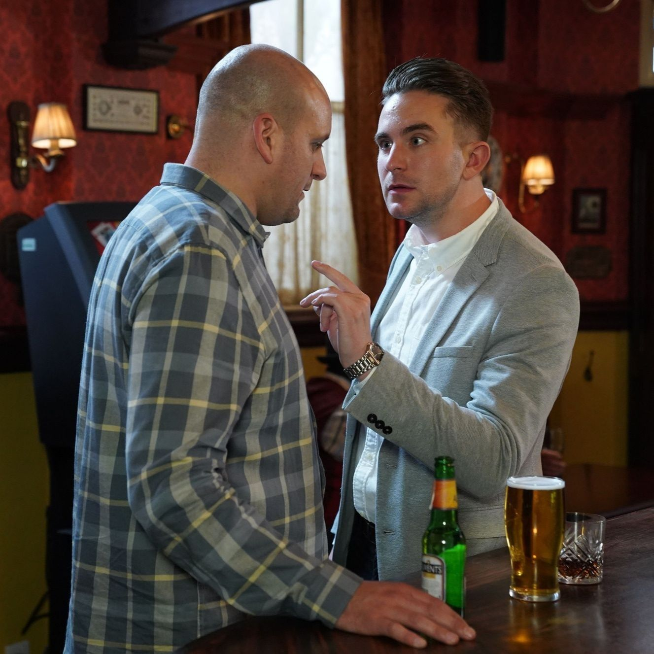 EastEnders' Stuart Highway takes mystery action to keep Ben and Callum apart