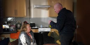 Karen Taylor and Phil Mitchell in EastEnders