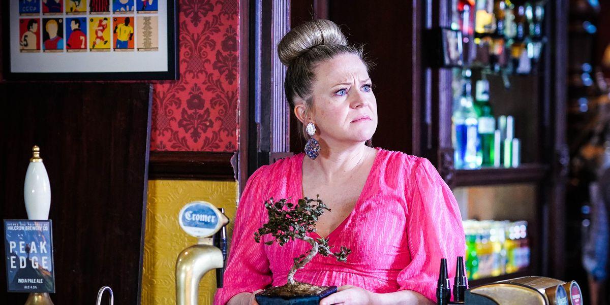 EastEnders' Linda Carter panics over Rainie's new move