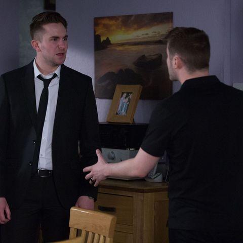 EastEnders' Ben Mitchell confronts Callum Highway over his shock secret