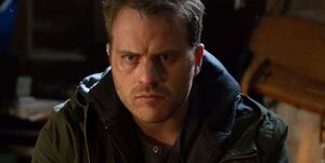 Sean Slater listens to voicemails in EastEnders
