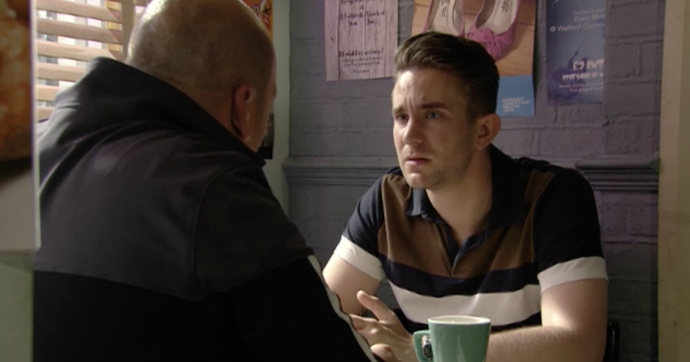 EastEnders' Callum Highway to make a sad discovery about Stuart's past