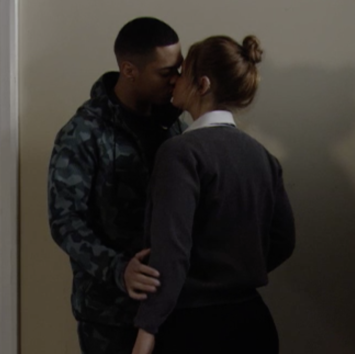 "EastEnders star Zack Morris teases ""love triangle"" after Keegan and Tiffany's kiss"