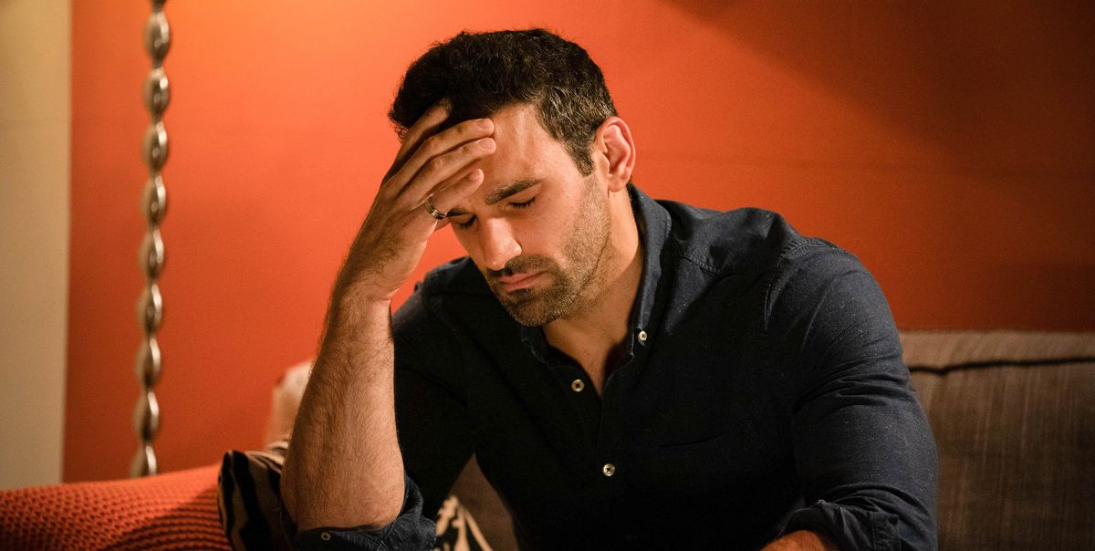 EastEnders' Kush Kazemi admits gambling addiction in preview photos