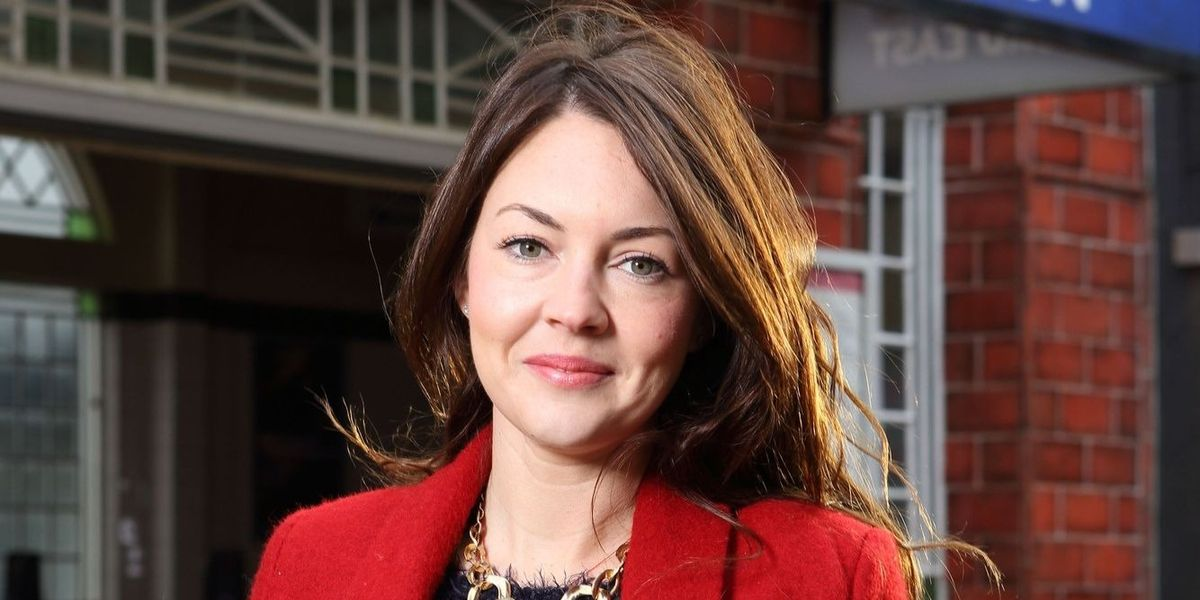 """EastEnders' Lacey Turner says it will be """"hard to go back"""" after maternity leave"""