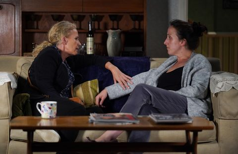 Lisa and Sonia Fowler in EastEnders