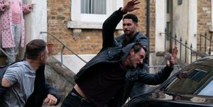 Martin Fowler is attacked in EastEnders