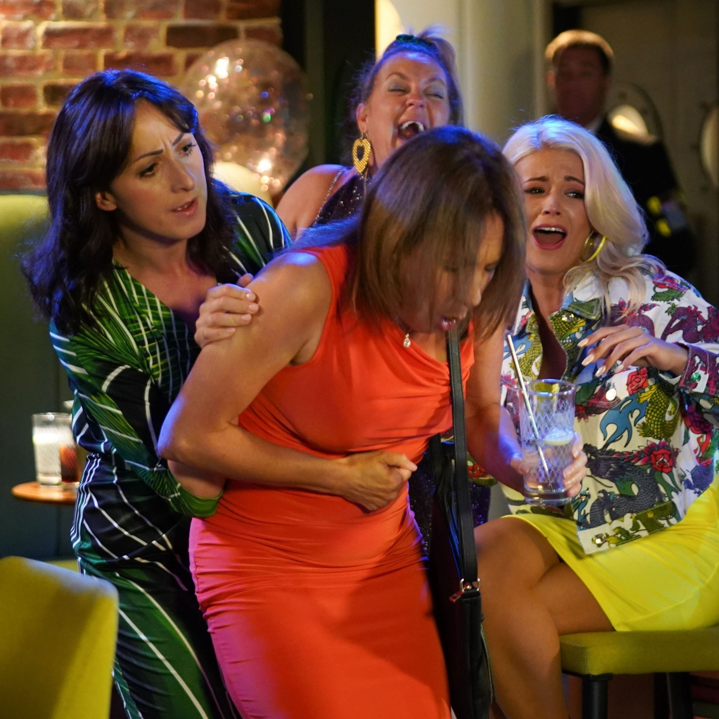 Soap spoilers: EastEnders hen night drama, Hollyoaks Luke return, Coronation Street row, Emmerdale guilt