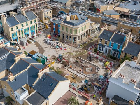 queen vic unveiled on new eastenders albert square set