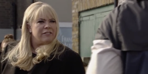 EastEnders 9/4/19: Sharon Mitchell punches Stix