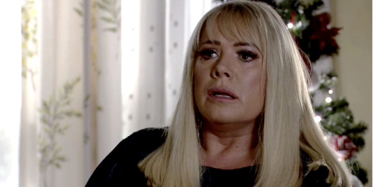 EastEnders first look as Sharon Mitchell returns home after son Dennis's death