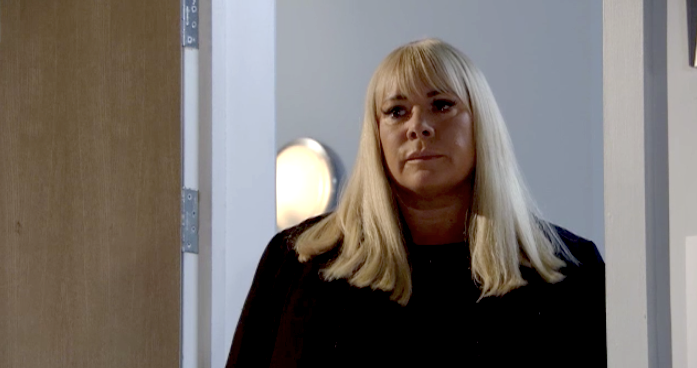 EastEnders' Sharon Mitchell's baby bombshell is revealed to Lisa Fowler