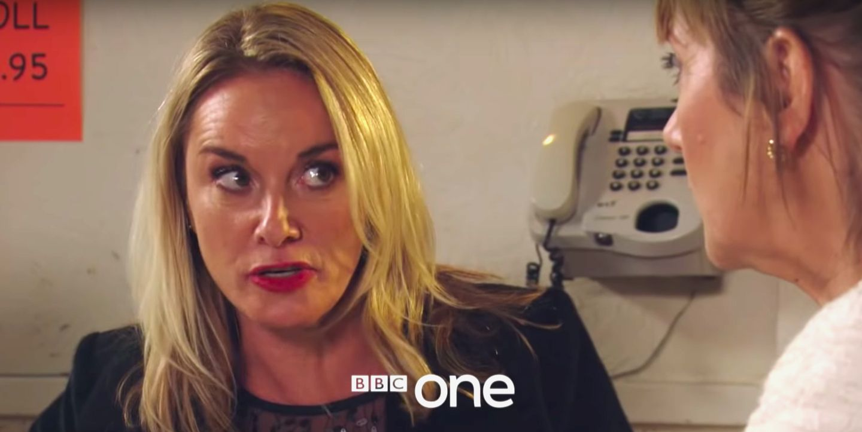Mel Owen in EastEnders New Year's Day trailer