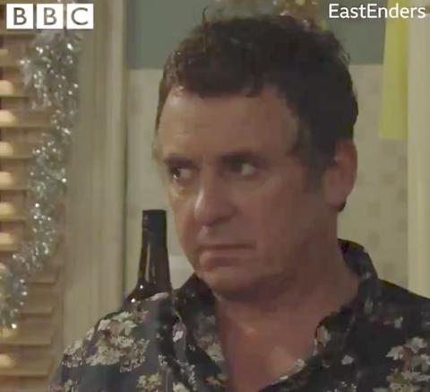 EastEnders 2018 Christmas trailer Alfie Moon