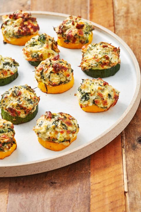 easter-appetizers-spinach-artichoke-zucchini-bites