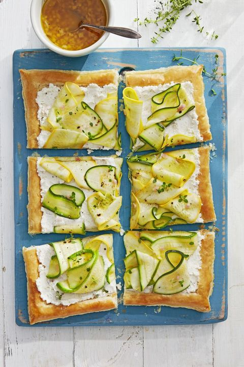 easter appetizers squash tart