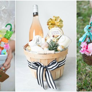 28 diy easter decorations homemade easter decorating ideas easter basket ideas negle Image collections