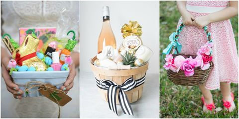 21 cute homemade easter basket ideas easter gifts for kids and adults easter basket ideas negle Images