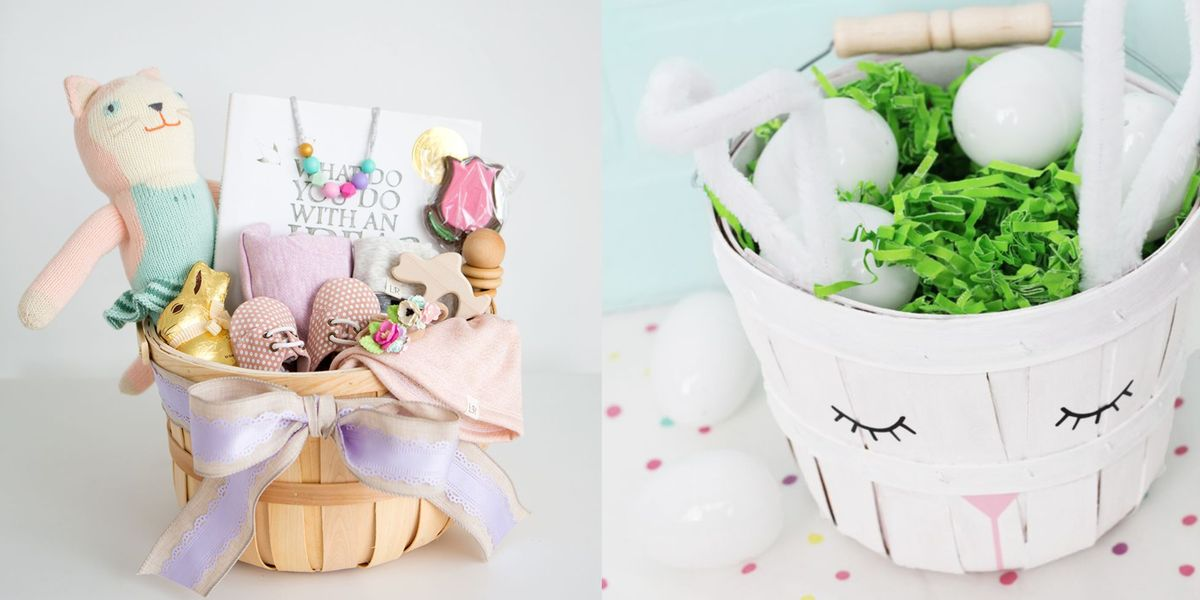26 Cute Homemade Easter Basket Ideas Easter Gifts For Kids And Adults