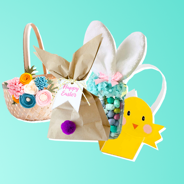 40 Easy Diy Easter Basket Ideas For All