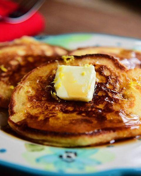 best pancake toppings  lemon zest