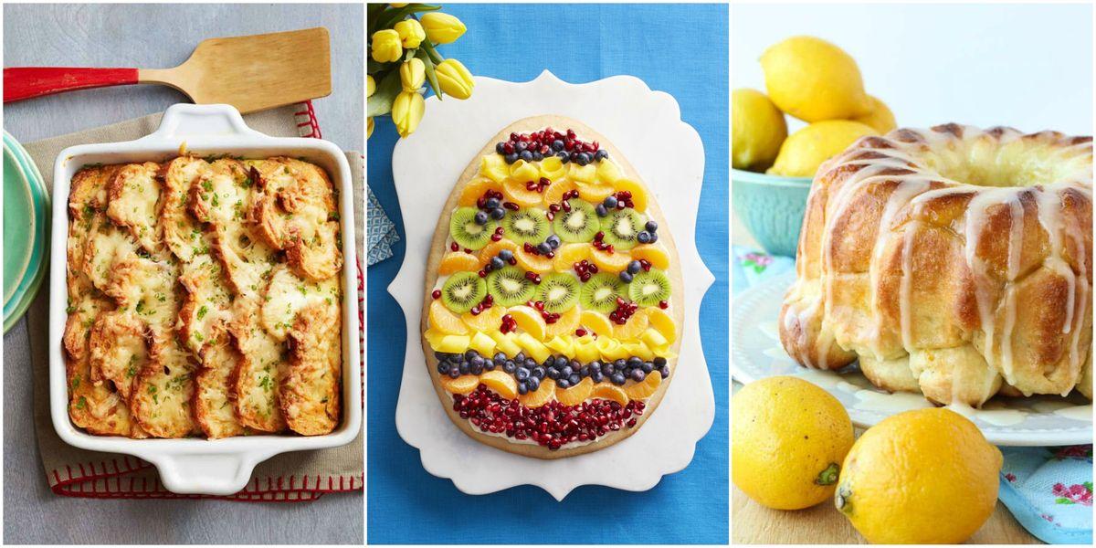 27 best easter brunch recipes easy easter sunday brunch for Easy easter menu ideas