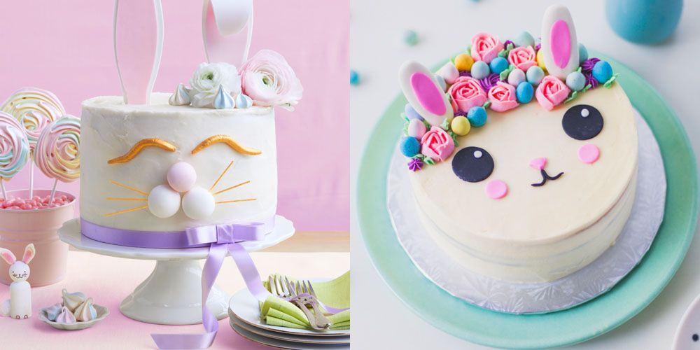 Easy Easter Bunny Cake Recipe How To Make A Bunny Cake