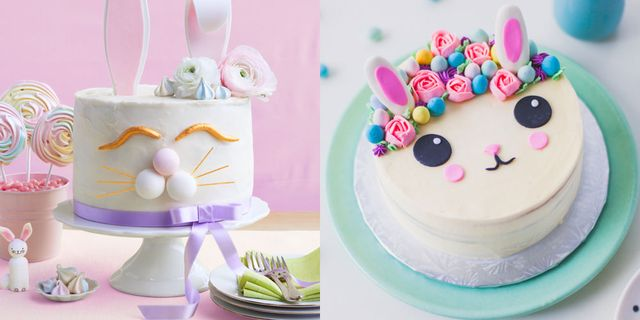 Awesome 12 Easy Easter Bunny Cake Ideas How To Make Bunny Shaped Cakes Birthday Cards Printable Trancafe Filternl